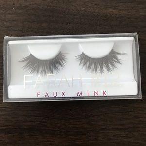 New Huda beauty Farah #12 faux mink eyelashes!